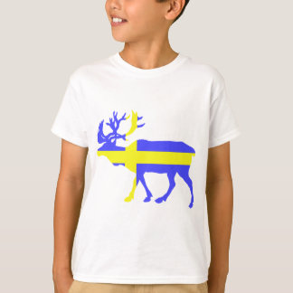T-shirt Élans de la Suède