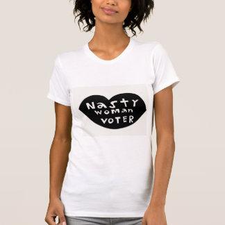 T-shirt Électrice méchante de femme