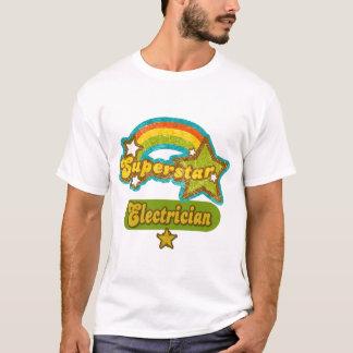 T-shirt Électricien de superstar