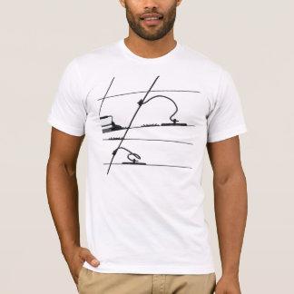 T-shirt Électrique de câble