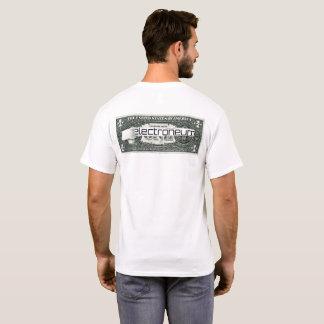 T-shirt Electroneum a déchiré le billet d'un dollar