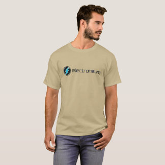 T-shirt Electroneum Cryptocurrency