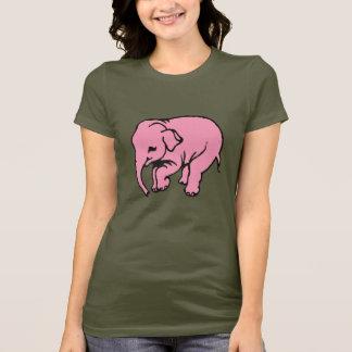 T-shirt Elefant rose