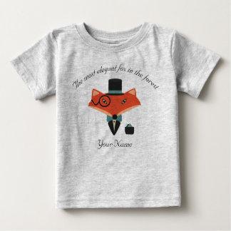 T-shirt élégant du Jersey de bébé de Fox