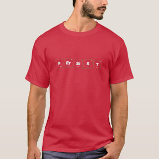 T-shirt Éléments de la persistance