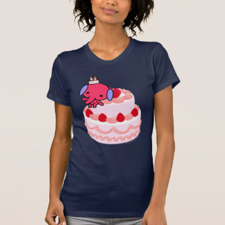 T-shirt - éléphant de gâteau - grand gâteau
