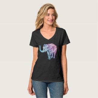 T-shirt Éléphant de henné