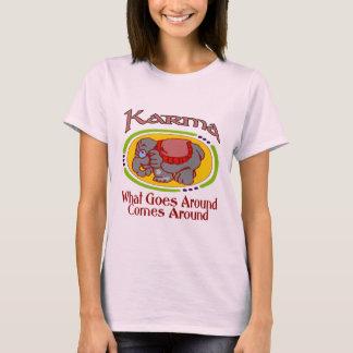 T-shirt Éléphant de karma