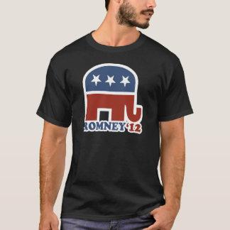 T-shirt Éléphant de républicain de Mitt Romney 2012