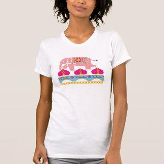 T-shirt Éléphant exotique