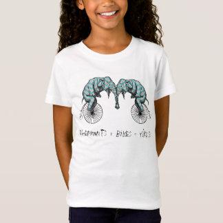 T-Shirt Éléphants plus les vélos YIKES égal !