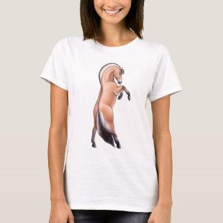 T-shirt Élevage du dessus de spaghetti de dames de cheval