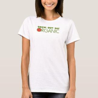 T-shirt Élevez, achetez, mangez organique