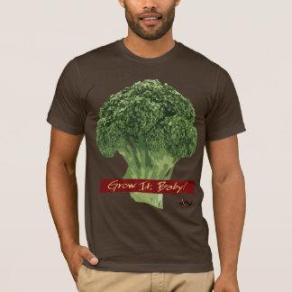 T-shirt Élevez-le bébé ! - Pièce en t de brocoli