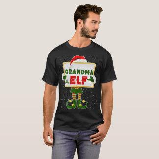 T-shirt elfe de grand-maman