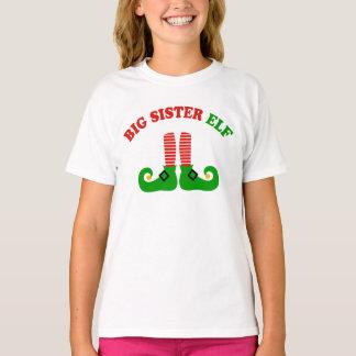 T-shirt Elfe de grande soeur