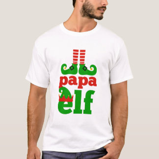 T-shirt Elfe de papa