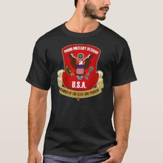 T-shirt Élite un pour cent (de rouge)