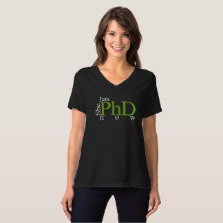 T-shirt Elle a le PhD maintenant