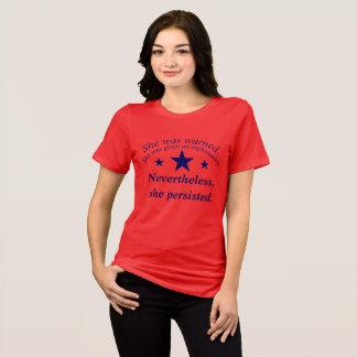 T-shirt Elle a persisté