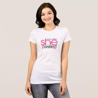 T-shirt Elle a persisté 02