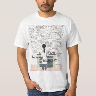T-shirt Elle a persisté (la TIGE)