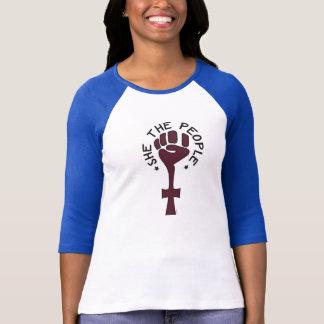 T-shirt Elle le Jersey des femmes de personnes