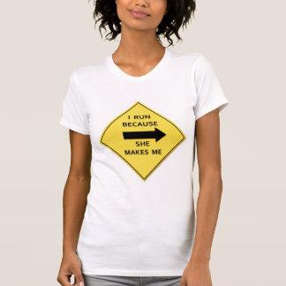 T-shirt Elle m'incite à courir
