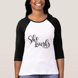 T-shirt Elle rit