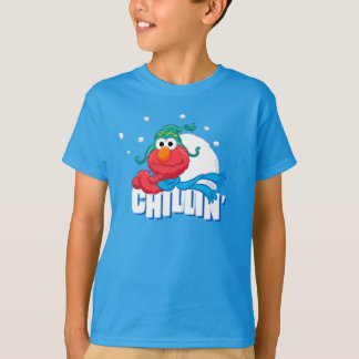 T-shirt Elmo Chillin