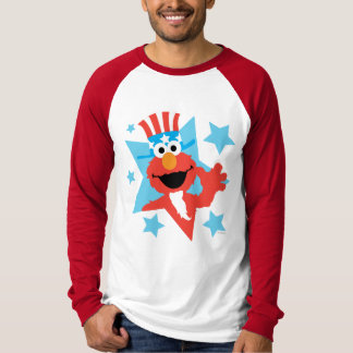 T-shirt Elmo comme Oncle Sam