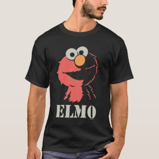 T-shirt Elmo demi