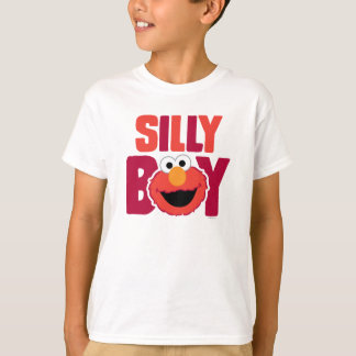 T-shirt Elmo idiot