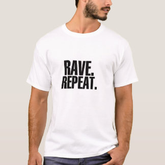 T-shirt Éloge. Répétition