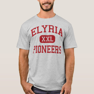T-shirt Elyria - pionniers - lycée - Elyria Ohio