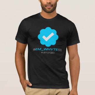 T-shirt @Em_Whyte55 - Vérifié - noir