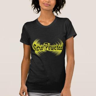 T-shirt emballage actionné nitro d'entrave