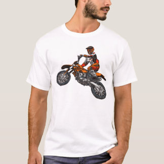 T-shirt Emballage de moto