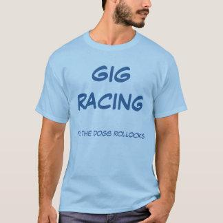 T-shirt Emballage de yole son les rollocks de chiens