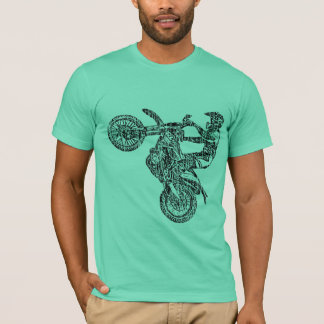 T-shirt Emballage d'Enduro