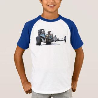 T-shirt Emballage d'entrave et voitures à moteur gonflé