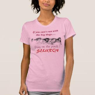 T-shirt Emballez, si vous ne pouvez pas courir avec les