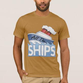T-shirt Embarquez tous les bateaux