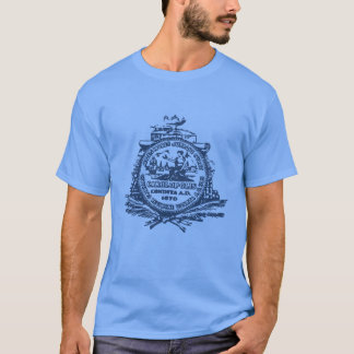T-shirt Emblème de Charleston, la Caroline du Sud