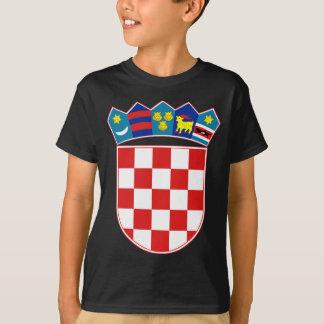 T-shirt emblème de la Croatie