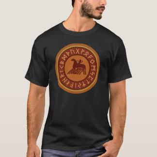 T-shirt Emblème de Sleipnir Odin de runes de Viking