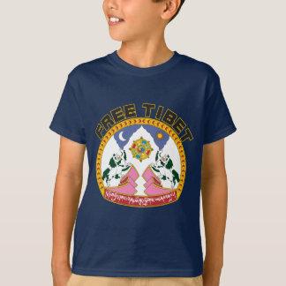 T-shirt Emblème libre du Thibet