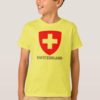 T-shirt Emblème suisse