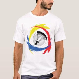 T-shirt Emblème tricolore de parachutage