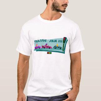 T-shirt Embouteillage déprimé de feu d'arrêt
